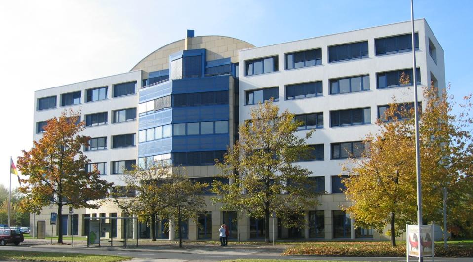 Gebäudeansicht MDM Münzhandelsgesellschaft