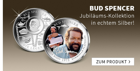 Bud Spencer in Silber