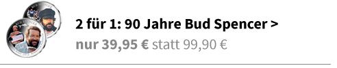 """Bud Spencer als """"Kommissar Plattfuß"""" und """"Mücke"""""""