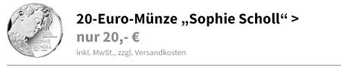 20 Euro Sophie Scholl