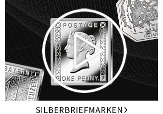 Silberbriefmarken