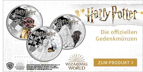 Harry Potter Gedenkmünzen