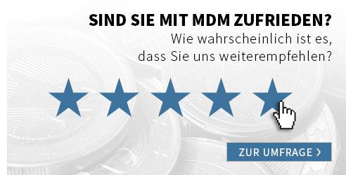 Sind Sie mit MDM zufrieden?