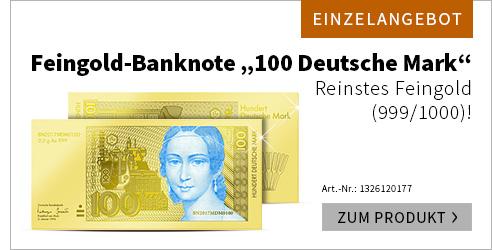 100DM Feingold Banknote