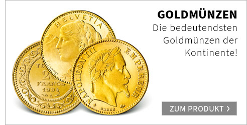 Die wichtigsten Goldmünzen aller Kontinente