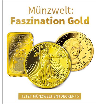 Werfen Sie einen Blick in die Münzwelt Gold!